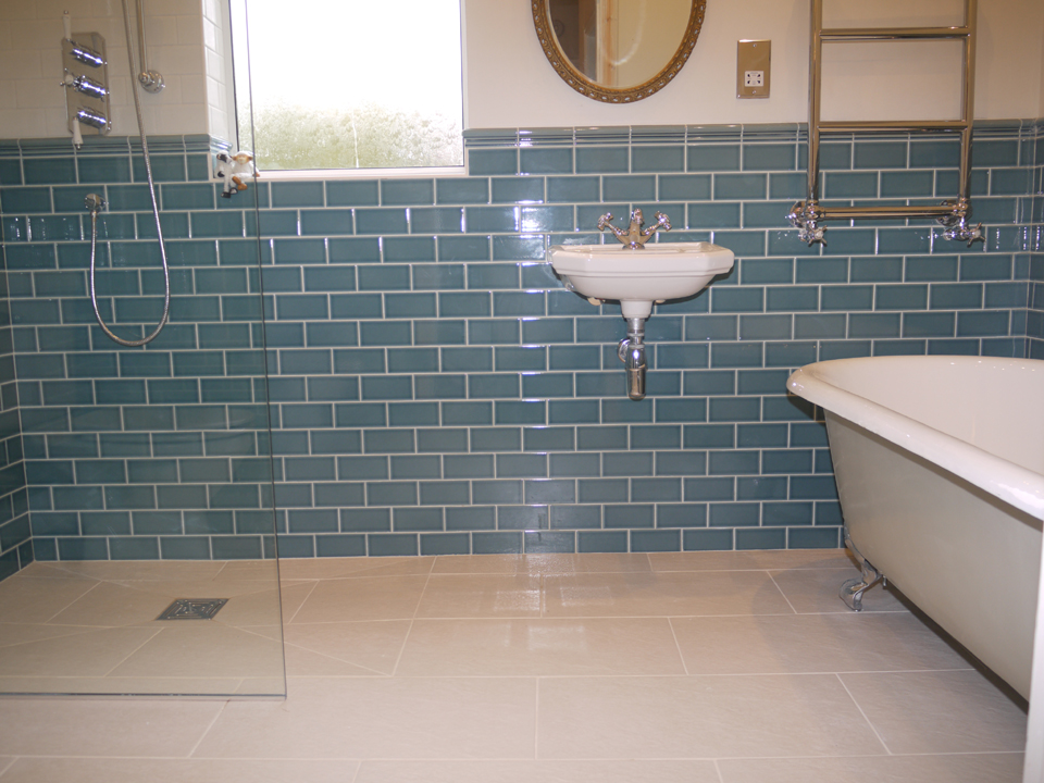 Traditional bathroom example