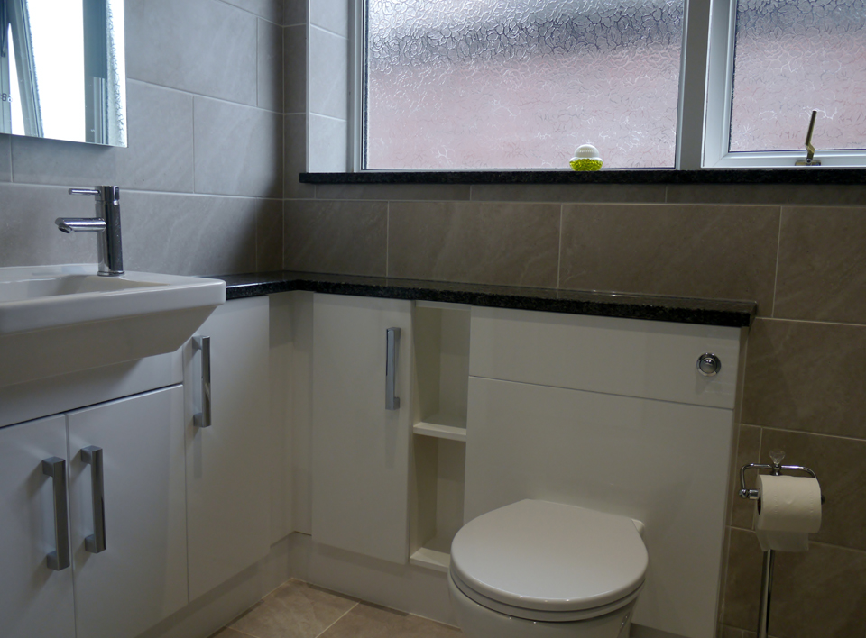 Fitted bathroom example